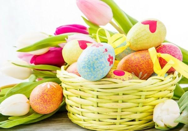 Eggs Easter Basket